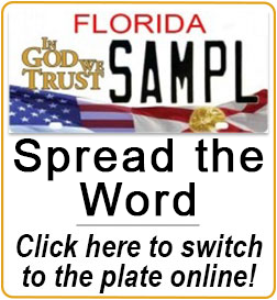 Spread the Word - Switch into it at your local tag office today!  ingodwetrustfoundation.com